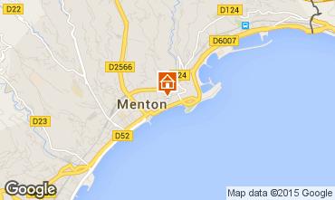Mapa Menton Apartamentos 91987