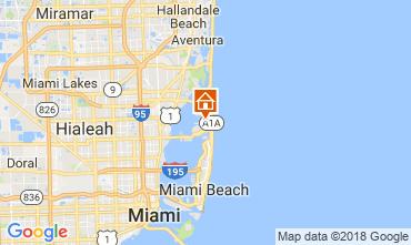 Mapa Miami Beach Vivenda 115572