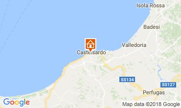 Mapa Castelsardo Apartamentos 115440