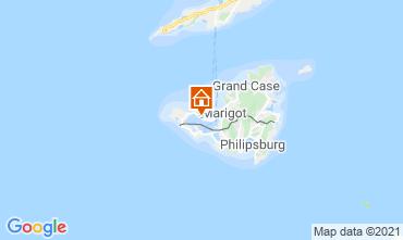 Mapa Marigot Apartamentos 114553