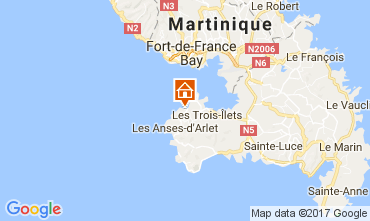 Mapa Trois Ilets Estúdio 111190