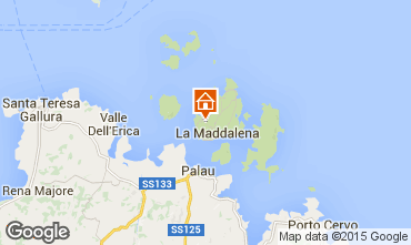 Mapa La Maddalena Vivenda 37144