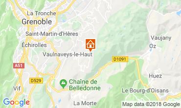 Mapa Chamrousse Apartamentos 116984