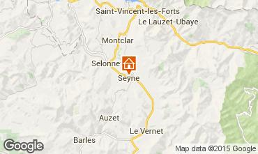 Mapa Seyne les Alpes Casa 568