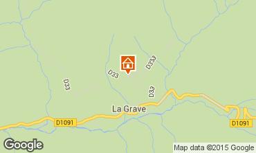 Mapa La Grave - La Meije Apartamentos 74724