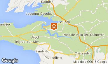 Mapa Crozon Casa 30658