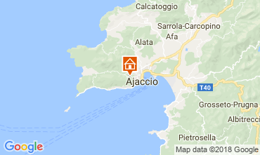 Mapa Ajaccio Chalé 114524