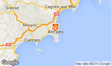 Mapa Antibes Estúdio 98215