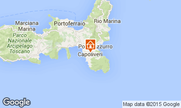 Mapa Capoliveri Apartamentos 74194