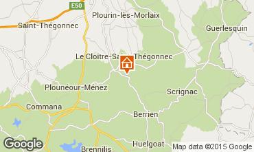 Mapa Morlaix Casa de turismo rural/Casa de campo 13634