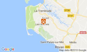 Mapa Les Mathes Casa 112282