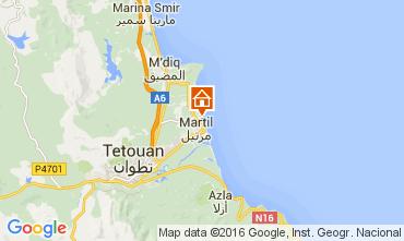 Mapa Martil Apartamentos 59209