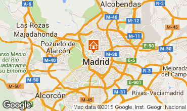 Mapa Madrid Apartamentos 101426