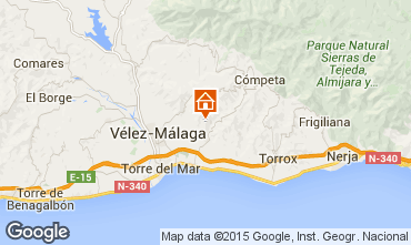 Mapa Arenas Casa 93972
