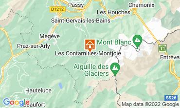 Mapa Les Contamines Montjoie Chal� 32551