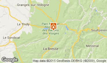 Mapa Gérardmer Apartamentos 52947