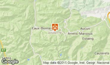 Mapa Gourette Apartamentos 61009