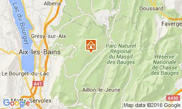Mapa Les Aillons Estúdio 91336