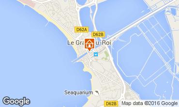 Mapa Le Grau du Roi Apartamentos 102895