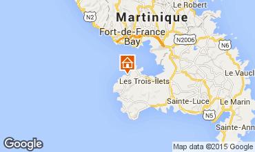 Mapa Trois Ilets Apartamentos 75673