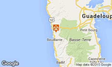 Mapa Bouillante Casa de turismo rural/Casa de campo 100329