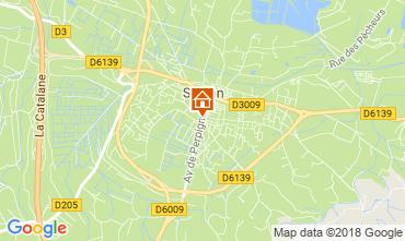 Mapa Sigean Mobil Home 102302