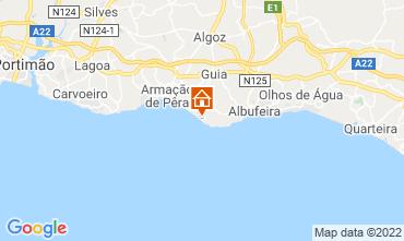 Mapa Albufeira Apartamentos 112861
