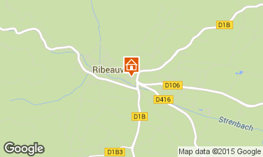 Mapa Ribeauvillé Apartamentos 70208