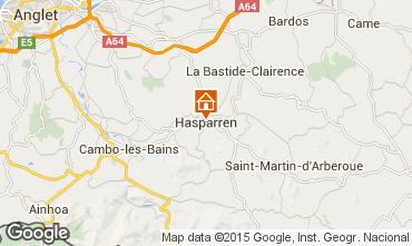 Mapa Hasparren Casa de turismo rural/Casa de campo 94393