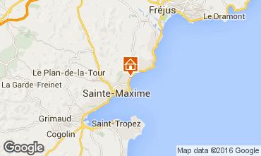 Mapa Sainte Maxime Vivenda 70153