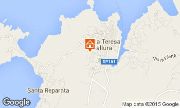 Mapa Santa Teresa di Gallura Casa 71335