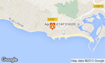 Mapa Cap d'Agde Apartamentos 83338