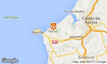 Mapa Peniche Apartamentos 46314