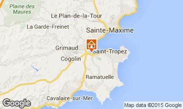 Mapa Saint Tropez Casa 68746