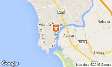 Mapa Vila do Conde Apartamentos 87313