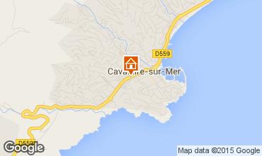 Mapa Cavalaire-sur-Mer Apartamentos 93859