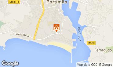 Mapa Portimão Apartamentos 87245