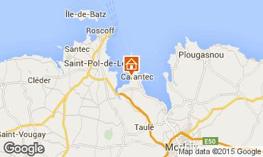 Mapa Carantec Casa 52041