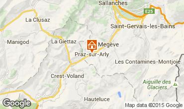 Mapa Praz sur Arly Estúdio 2297
