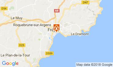 Mapa Fréjus Apartamentos 115918