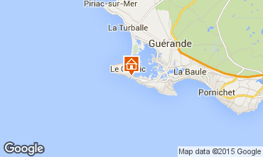 Mapa Le Croisic Apartamentos 41214