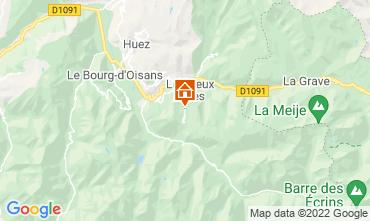Mapa Les 2 Alpes Apartamentos 106612