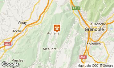 Mapa Autrans Casa de turismo rural/Casa de campo 65665