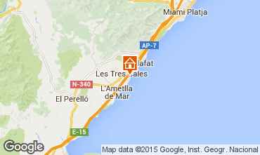 Mapa La Ametlla de Mar Vivenda 59751