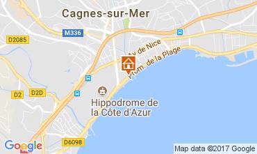 Mapa Cagnes sur Mer Apartamentos 111275