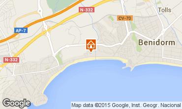 Mapa Benidorm Apartamentos 94181