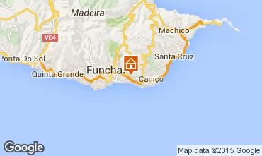 Mapa Funchal Apartamentos 100929