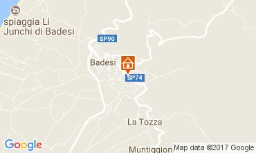 Mapa Badesi Apartamentos 112512