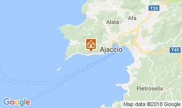 Mapa Ajaccio Apartamentos 112993