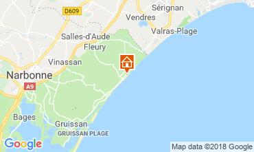 Mapa Saint Pierre la Mer Vivenda 116974